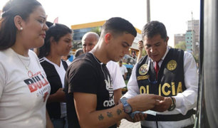 Realizan megaoperativo contra extranjeros indocumentados en Tacna