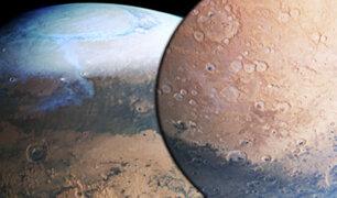 Marte como nunca se vio: ESA revela impresionante imagen del planeta rojo