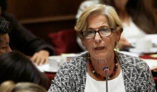 Susana Villarán: declaran infundado cese de prisión preventiva en su contra