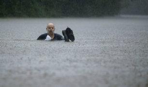 EEUU: dos fallecidos deja paso de tormenta tropical Imelda por Texas