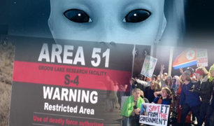 """EEUU: así se realizó el """"Asalto al Área 51"""""""