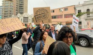 Personas de todo el mundo marcharon contra el cambio climático