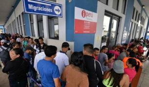 Tumbes: detienen a 49 extranjeros por exceso de permanencia