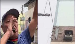 Santa Anita: vecinos organizados instalan sirenas y cámaras tras inseguridad