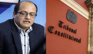 Víctor Hugo Quijada cuestiona celeridad para seleccionar a nuevos integrantes del TC