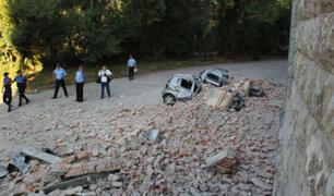Dos sismos de más de 5 grados remecen ciudades de Albania