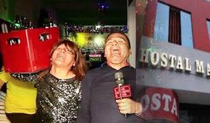 La Bibi y el Jhony visitan los hostales con los nombres más graciosos y sugestivos de Lima