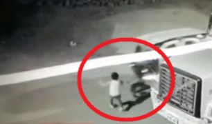Carabayllo: mototaxista atropelló dos veces a niño y se dio a la fuga