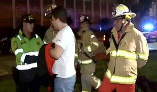 La Victoria: detienen a falso bombero atendiendo incendio en spa