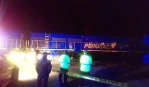 Arequipa: hombre muere cercenado tras ser arrollado por tren