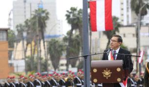 """Vizcarra: """"Los miembros de las instituciones tienen que responder al interés del país"""""""