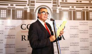 Pedro Olaechea tras audio de congresistas: se denunciará ante la Fiscalía
