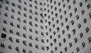 Turquía: colgaron 440 zapatos en memoria a mujeres asesinadas por sus esposos