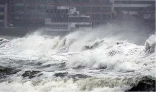 Asia: tifón Tapah deja más de 70 heridos en Japón y Corea del Sur