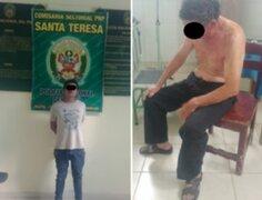 Detienen a sujeto que roció con thinner y prendió fuego a su padre de 68 años