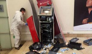 Chile: cae banda que robaba cajeros automáticos mediante explosión