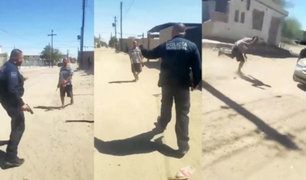 México: iniciarán investigación a policía que disparó a hombre con cuchillo