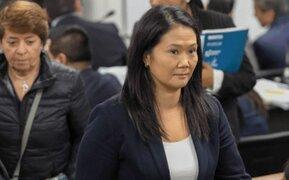 TC confirma que audiencia sobre habeas corpus de Keiko Fujimori será mañana