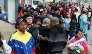 Migración venezolana al Perú comienza a caer, según cifras oficiales