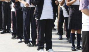 Callao: autoridades buscan reducir violencia en colegios