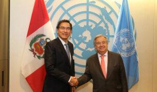 ONU agradeció al Perú por acoger a migrantes y refugiados venezolanos