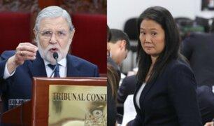 Tribunal Constitucional: ponencia de Blume estaría a favor de liberar a Keiko Fujimori
