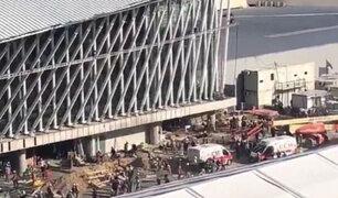 Argentina: un muerto y 10 heridos dejó accidente en aeropuerto de Ezeiza