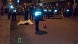 La Libertad: delincuentes asesinan a balazos a ingeniero y se llevan su motocicleta