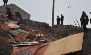 Rímac: desalojan a traficantes de terrenos que invadieron cerro San Cristóbal