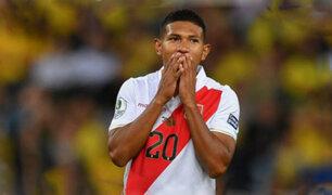 Edison Flores se lesionó y sería duda para los partidos amistosos de octubre