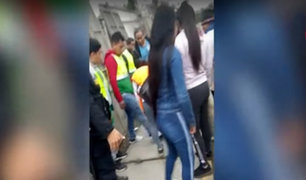 Cañete: venezolana reprende a supuestos ladrones de su país