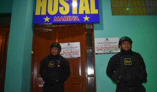 Pueblo Libre: clausuran 12 hostales y una discoteca por insalubridad