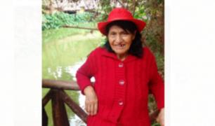 El Agustino: reportan desaparición de anciana con Alzheimer