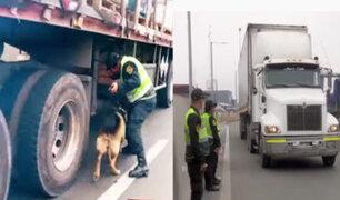 Policía de carreteras: hallan armamento dirigido a narcotraficantes del Vraem