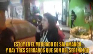 Ate se pronuncia sobre mujer que atacó a serenos con comentarios racistas