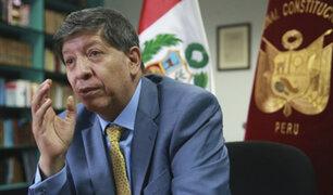 Magistrado Ramos: TC podría quedar debilitado tras proceso de selección