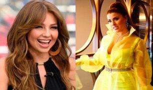 Thalía: así fue su inesperada reacción al ver presentación de Yahaira Plasencia