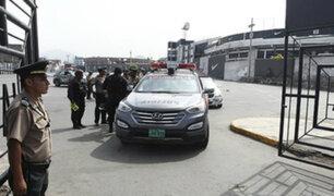 Policías resguardan Matute ante amenaza de invasión de Aposento Alto