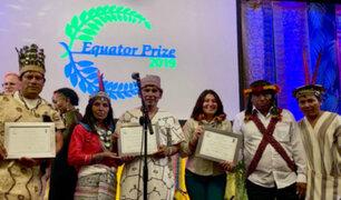 Comunidades de la Amazonía peruana recibirán premio internacional