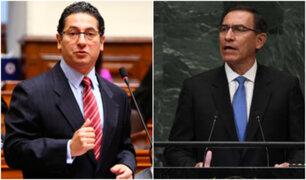 "Heresi considera que Vizcarra hizo ""papelón"" en la ONU"