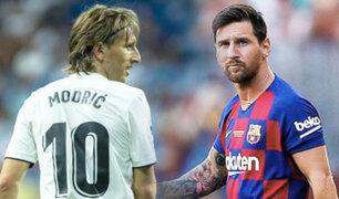 ¡A madrugar!: se confirmó la hora y fecha del Barcelona vs. Real Madrid