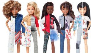 EEUU: Mattel lanza su nueva colección de muñecos customizables e inclusivos