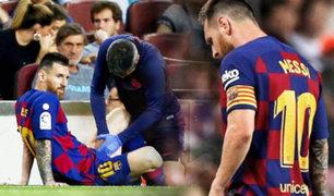 Lionel Messi: Barcelona confirma cuál es la lesión del delantero argentino