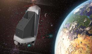 NASA pondrá en órbita un telescopio infrarrojo para detectar asteroides peligrosos