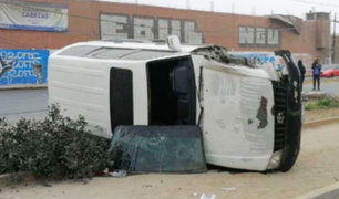 Los Olivos: un muerto y un herido fue el saldo de un accidente de tránsito