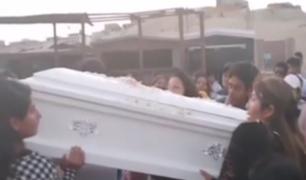 Ica: niña de tres años falleció durante balacera