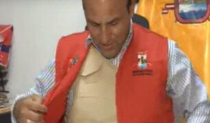 Pachacámac: Alcalde usa chaleco antibalas hace 7 meses por amenazas de muerte