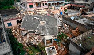 Pakistan: fuerte sismo de 5.8 ya ha dejado 37 fallecidos
