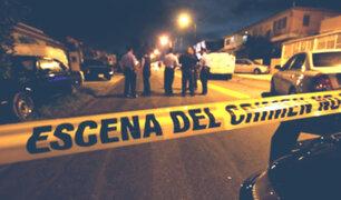 Arequipa: hombre muere acuchillado por defender a su hijo