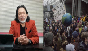 "César Gutiérrez: ""Desinterés gubernamental en acciones concretas sobre cambio climático"""